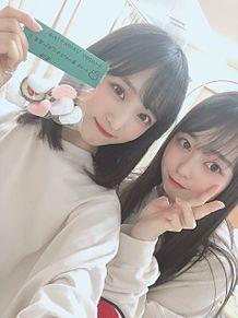 AKB48  チーム8 小栗有以 大盛真歩 プリ画像