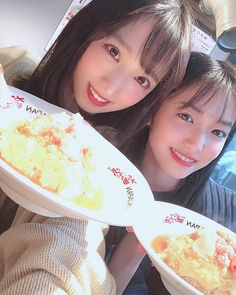 AKB48  チーム8 小栗有以 下尾みうの画像 プリ画像