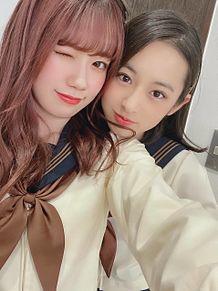 AKB48  チーム8 服部有菜 長谷川百々花 プリ画像