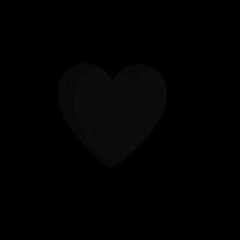 量産型/背景透過/量産型背景透過/黒ハートの画像(プリ画像)
