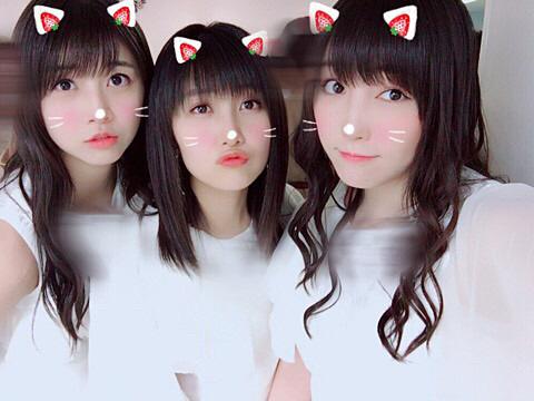 みんな同じ猫衣装、譜久村聖