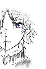 鼻血←←の画像(ペンタブに関連した画像)