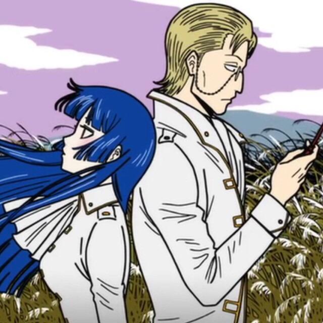 佐々木異三郎と今井信女