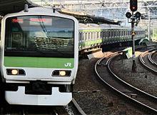 E231系500番台 五反田駅での画像(五反田に関連した画像)