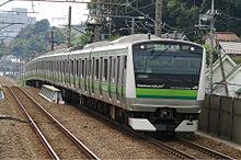 横浜線E233系 片倉駅で プリ画像