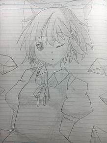 チルノ 手描きの画像(プリ画像)