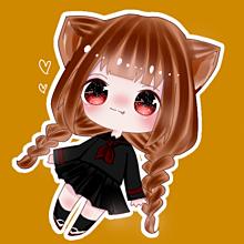 にゃんฅ•ω•ฅの画像(#猫耳に関連した画像)