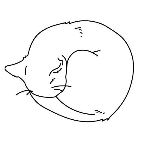 イラスト モノクロ 猫の画像59点 完全無料画像検索のプリ画像 Bygmo