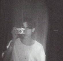 テヒョンの画像(モノクロに関連した画像)