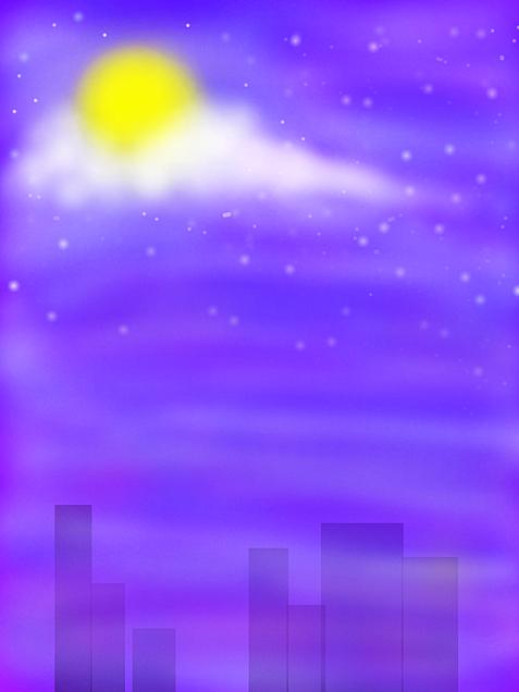 夜風景の画像(プリ画像)