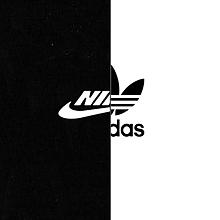 NIKE adidas     黒・白 プリ画像