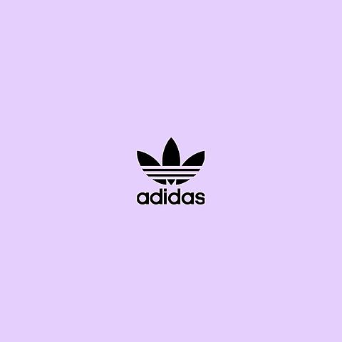 adidas     紫の画像(プリ画像)