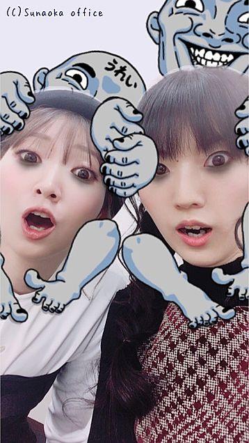 進撃の巨人麻里奈ちゃんと由依ちゃんwwの画像(プリ画像)