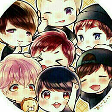 BTS メンバー キャラの画像(プリ画像)