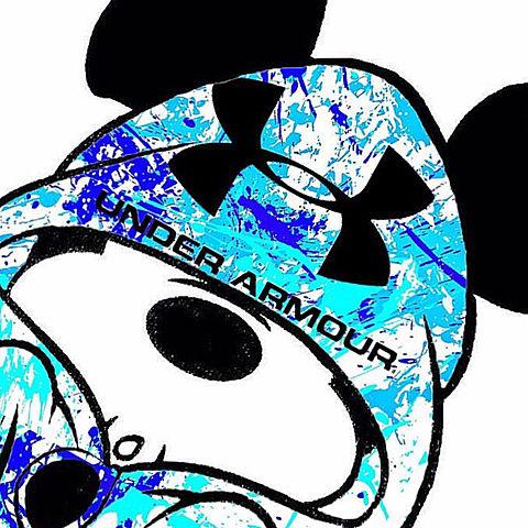 UNDER ARMOUR ミッキーの画像 プリ画像