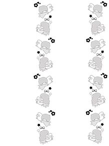 キンブレシートフレーム 素材の画像(サンリオに関連した画像)
