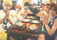 この画像で妄想 🌈# メンバーと昼ごはんを食べてたらの画像(桐山照史 食に関連した画像)