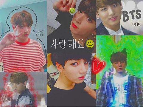 BTS ジョングク💕💕の画像(プリ画像)