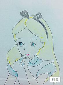 不思議の国のアリス   アリス   ディズニー     アナログの画像(プリ画像)