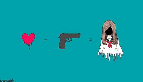 女の子はね、愛と殺意で出来てるのの画像(プリ画像)