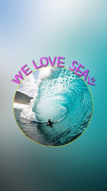 We love seaの画像(プリ画像)