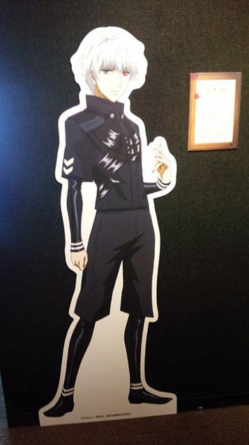 『東京喰種 展』っぽいのに行ってきました!!の画像(プリ画像)