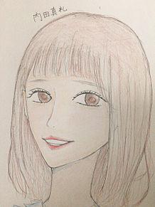 内田真礼 イラストの画像(まれいたそに関連した画像)