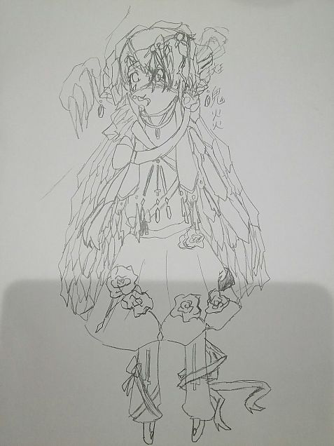 装飾品サマ第二形態←の画像(プリ画像)