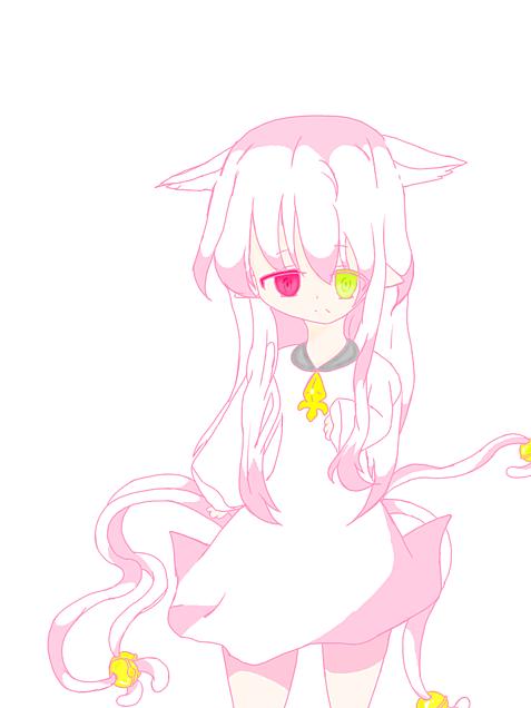 猫っ子少女の画像(プリ画像)