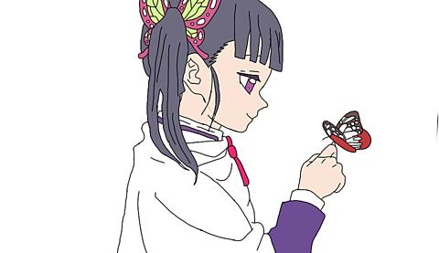 刃 カナヲ つの イラスト きめ