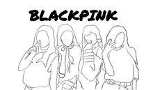 BLACKPINK 💗イラスト  保存はイイネ👍🏻 プリ画像