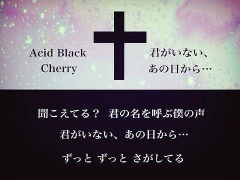 Acid Black Cherry の画像(プリ画像)