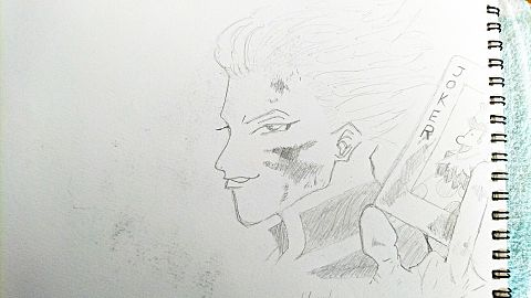ヒソカ描いてみたの画像(プリ画像)