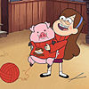 Mabel and Waddles プリ画像