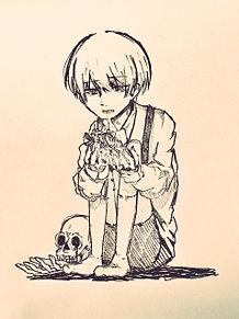 白い子供の画像(プリ画像)