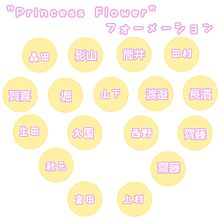 3rd single Princess Flower フォーメー