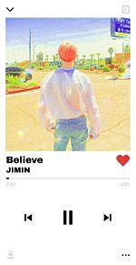 Believe ft.JIMINの画像(レイヤに関連した画像)
