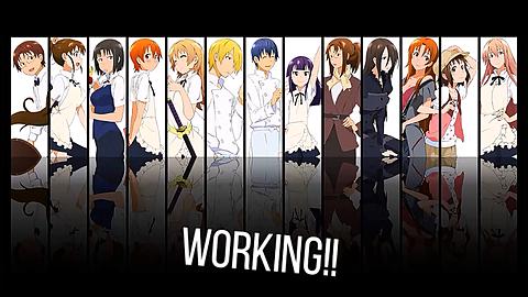 working!!の画像(プリ画像)
