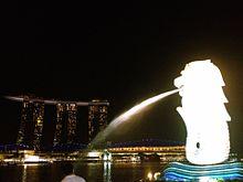 Singapore Merlionの画像(プリ画像)