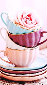薔薇 ティーカップ かわいいの画像(ティーカップに関連した画像)