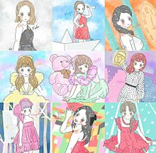 NiziUのゆるゆるイラストの画像(NiziU🌈に関連した画像)
