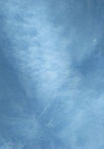 ☁ 飛行機雲 青空 空 雲の画像(ひこうき雲に関連した画像)