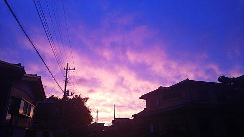 夕焼け空 綺麗✨の画像(プリ画像)