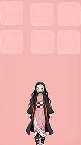 禰豆子でスマホ壁紙作ってみた(*ˊᵕˋ*)の画像(スマホ壁紙に関連した画像)
