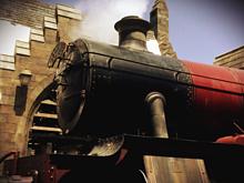 ユニバーサルスタジオジャパンのハリーポッターエリアの汽車の画像(アンティークに関連した画像)