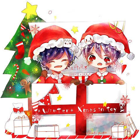 Xmas in toy box!の画像(プリ画像)