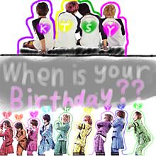 タイムライン 誕生日