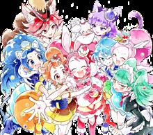 プリキュアの画像(キラキラ☆プリキュアアラモードに関連した画像)