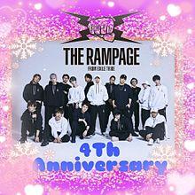 THE RAMPAGE(4Th Anniversary)の画像(Anniversaryに関連した画像)