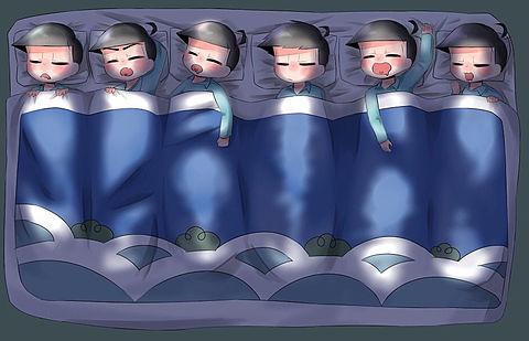 寝る場所違うの~の画像(プリ画像)